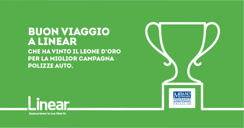 Leone d'oro a Linear agli MF Awards