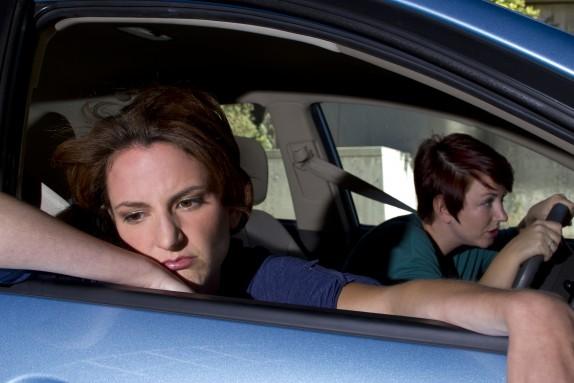 combattere il mal d'auto
